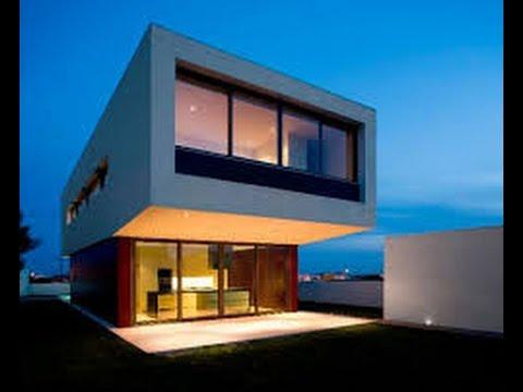 Planos de casas modernas de 2 pisos con medidas youtube for Planos de casas con medidas