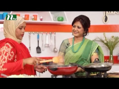 Food programme l Today's Kitchen with carving artist Billal Hossain and Tawfiq Forazi l Episode 09