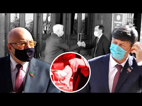 Масочно-перчаточный режим для депутатов Госсовета Татарстана