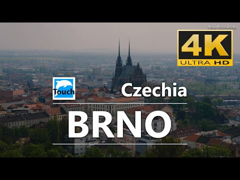 Brno - the most interesting places to visit, 4K - 21 min.