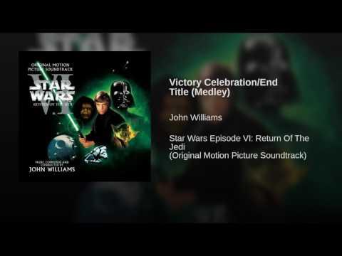Star Wars Episode VI׃ Return Of The Jedi Soundtrack 25 Victory Celebration ⁄ End Title