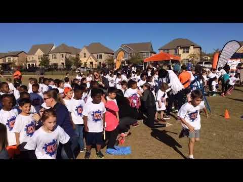 Viridian elementary school Apex fun run