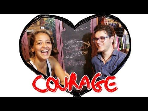 Embrasser une fille c'est COURAGEUX (feat Poisson Fécond)