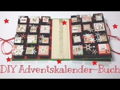 DIY Adventskalender Buch [tutorial | Deutsch]