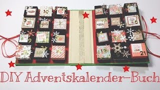 DIY Adventskalender-Buch [tutorial | deutsch]