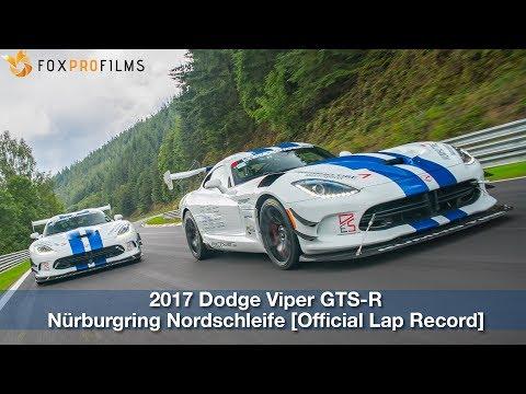 2017 Dodge Viper ACR Nürburgring Nordschleife [Official Lap Video]