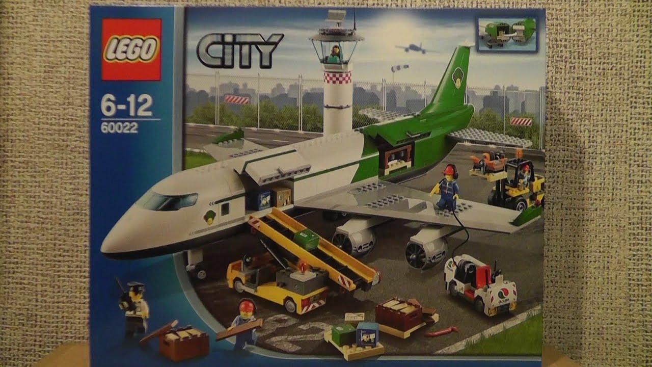 Lego City 60022 Terminal Towarowy Youtube