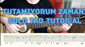 Bu Benim Oykum Fingerstyle Gitar Solo Nota Tab Gitar Dersleri Tutorial Youtube