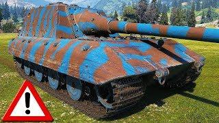Jagdpanzer E 100 - WARNING: CONTAINS HEAT AMMO - WoT Gameplay