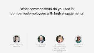 Webinar: fireside chat on employee engagement