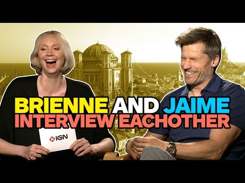 Game of Thrones' Brienne and Jaime Interview Each Other