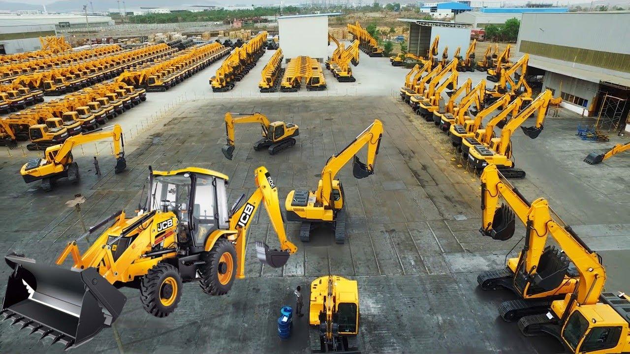 देखिये आखिर Factory में कैसे बनाये जाते है JCB (जेसीबी) | Automobile Car, Bus Manufacturing Machines