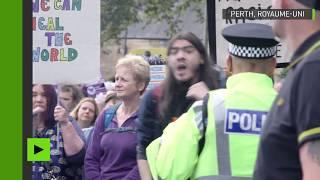 Double manifestation à Perth : les Ecossais divisés face à la construction d'une mosquée