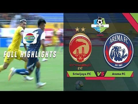 Sriwijaya Fc  Arema Fc Full Highlight Go Jek Liga  Bersama Bukalapak
