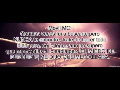 Movil Mc - No Pienses En Volver Ft Niarfe Herrera ( Video Con Letra)