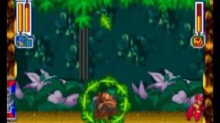 MegaMan 8 - Woodman (Only in Sega Saturn)