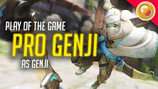 PRO GENJI! - Overwatch Gameplay (Funny Moments)