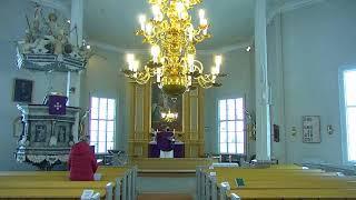 Mässa i Nedervetil kyrka