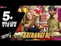 Satrangi Re - Wrong Side Raju | Pratik Gandhi, Kimberley Louisa McBeath | Arijit Singh |Sachin-Jigar