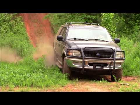 Suburban, Expedition, and Terraza offroading