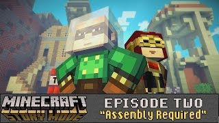 """Minecraft: Story Mode (Telltale) - Let's Play - Episode 2: """"Assembly Required"""" (FULL EPISODE)"""