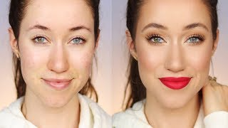 Full Face Using ALL Flower Beauty Makeup 😱