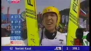 Miyahira & Schmitt & Kasai - Planica 1998/1999 (3) - kom. Marek Rudziński