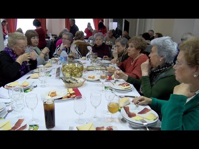 Almuerzo de Navidad de Mayores y Pensionistas de Cartaya