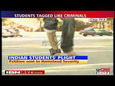 Indian Students GPS Tagged - Fake US varsity duped students radio tagged