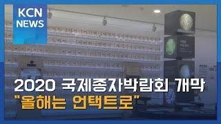 """2020 국제종자박람회 개막…""""올해는 언택트로"""""""