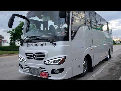 Mercedes Benz Minibus Kijsetthi OF917 กับความพร้อมในการจัดส่งให้ลูกค้า