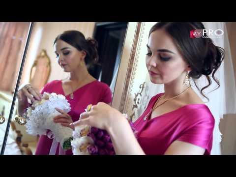 Красивый ролик невесты 'Свадьба Юсупа и Ларисы' -музыка Тамила и Зарема