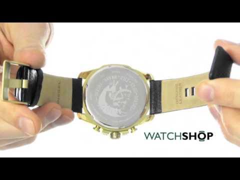 82e3682f5c49 Diesel Men s Mega Chief Chronograph Watch (DZ4344) by WatchShopOfficial