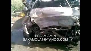حادث مروع بمدخل حوش عيسى بالبحيرة 26/3/2012