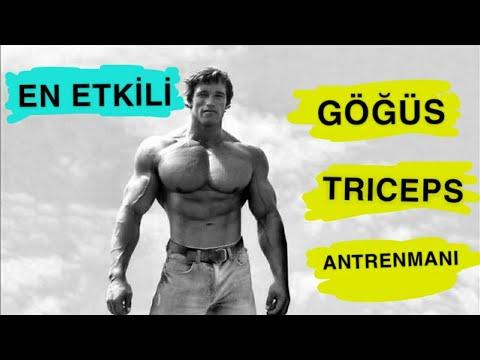 En Etkili Göğüs / Triceps Antrenmanı (BÖLGESEL ÇALIŞANLAR İÇİN)