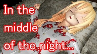 Touhou MMD - In the middle of the night