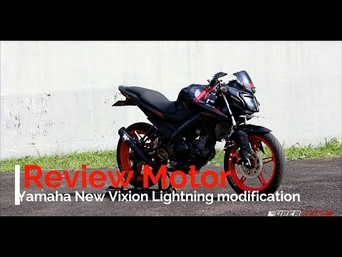 #32 Review New Vixion Lightning Modification - SuperRein16