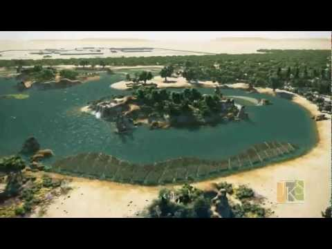 Ecopark Birdwatching Lagoon Project, Doha North Sewage Treatment Plant, Qatar