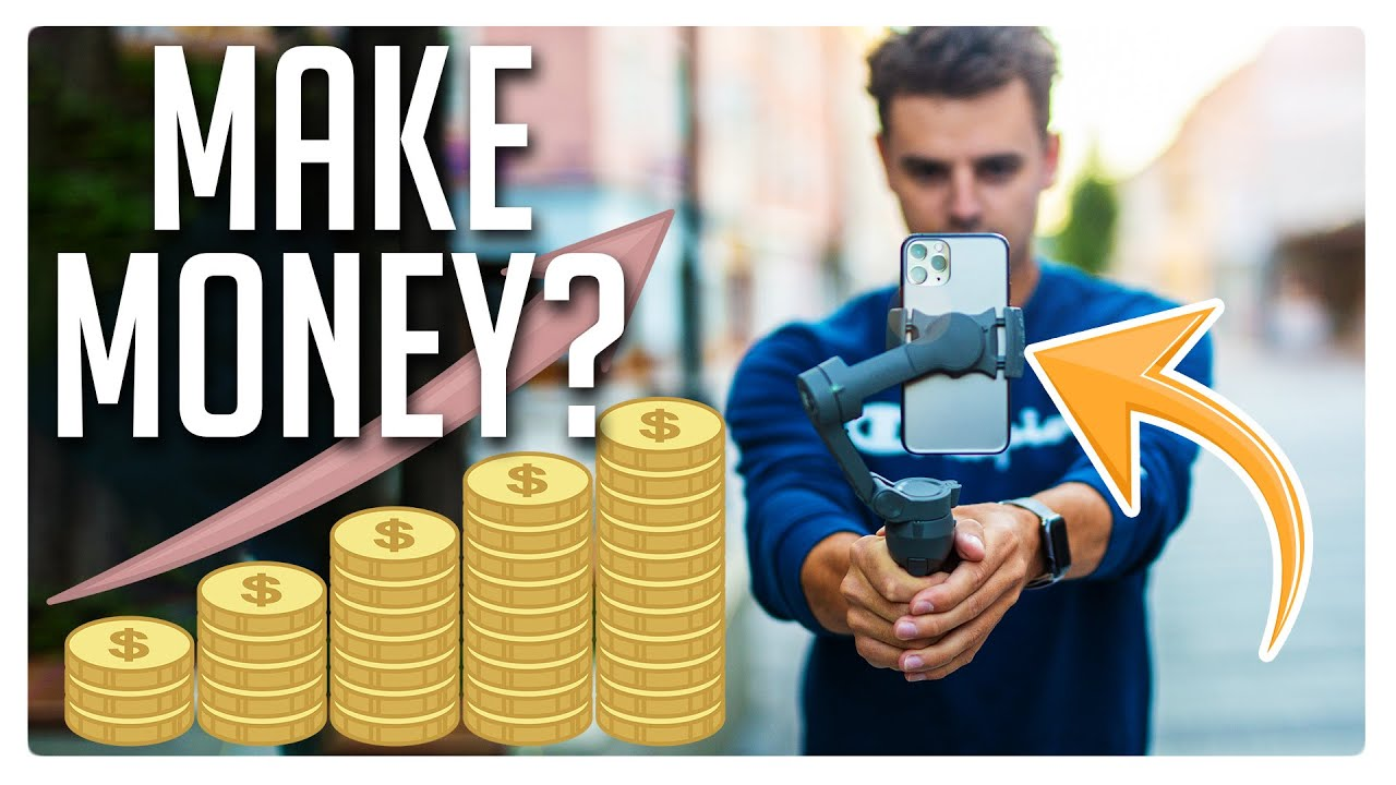 This is how you can Earn Money Filming with your Smartphone!