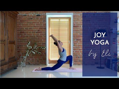 Joga Radości   25 Minutowa Vinyasa Flow   YOGA By Eli