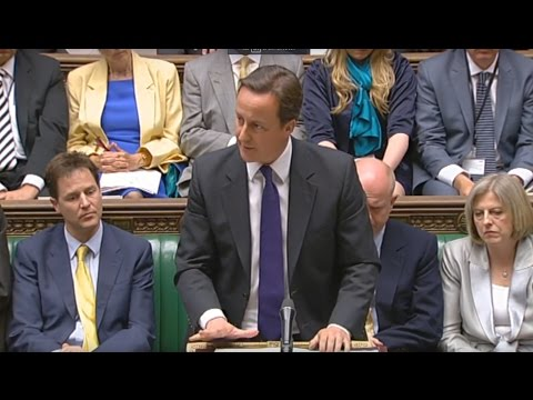 David Cameron's first Prime Minister's Questions: 2 June 2010