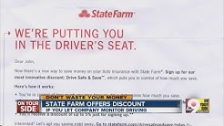 State Farm offers discount