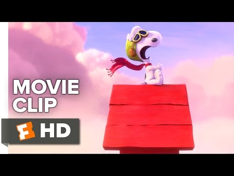 The Peanuts Movie CLIP - The Red Baron (2015) - Animated Movie HD
