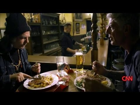 Anton Newcombe from Brian Jonestown Massacre cooking for Anthony Bourdain Mp3