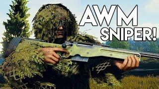 » AWM SNIPER! « - Stärkstes Scharfschützengewehr in Battlegrounds