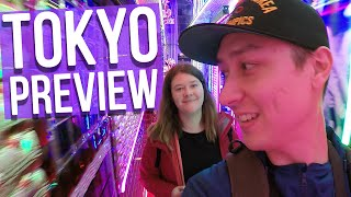 Tokyo Preview Video (Stay tuned for 7 days of Japan vlogs!)