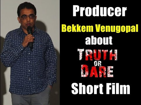 """Nenu Local"" Associate Producer Venu Gopal about TRUTH or DARE   HR Productions"