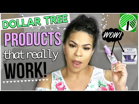 DOLLAR TREE PRODUCTS THAT ACTUALLY WORK   New Dollar Store Series   Sensational Finds