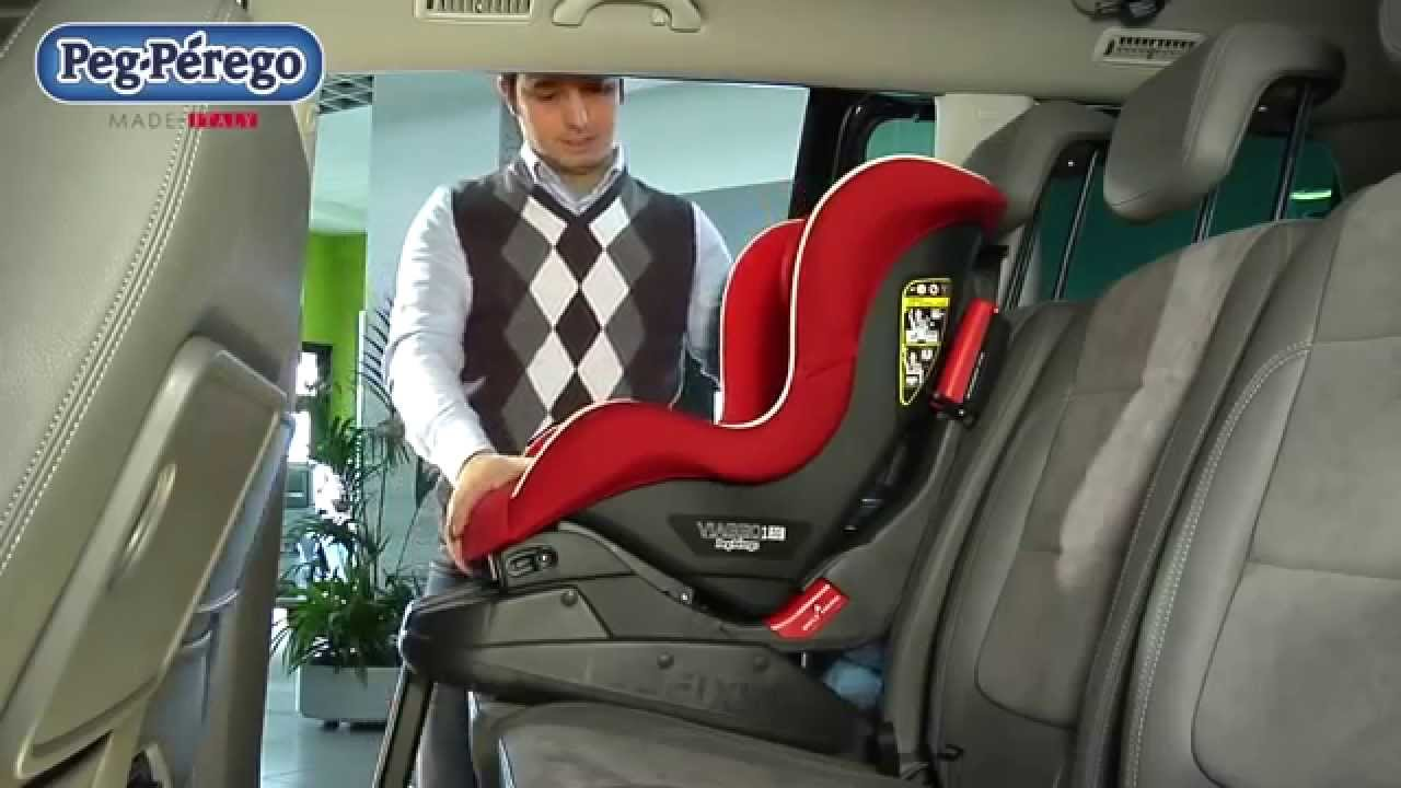 base isofix si ge auto primo viaggio peg perego youtube. Black Bedroom Furniture Sets. Home Design Ideas