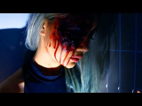 Beginners Halloween Makeup Tutorial ♥ The Bloody Eye ♥ Wengie